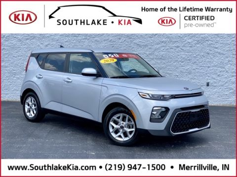 Certified Pre-Owned 2020 Kia Soul S FWD 4D Hatchback