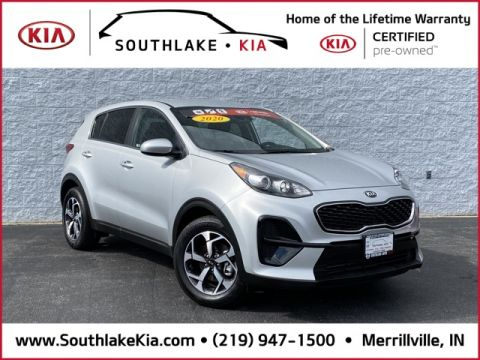Certified Pre-Owned 2020 Kia Sportage LX FWD 4D Sport Utility
